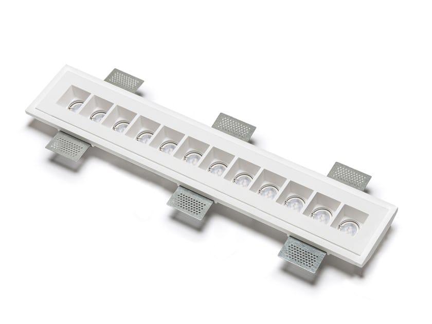 Plafoniera a LED a incasso in Cristaly® 4196N | Lampada da soffitto a incasso by 9010 novantadieci