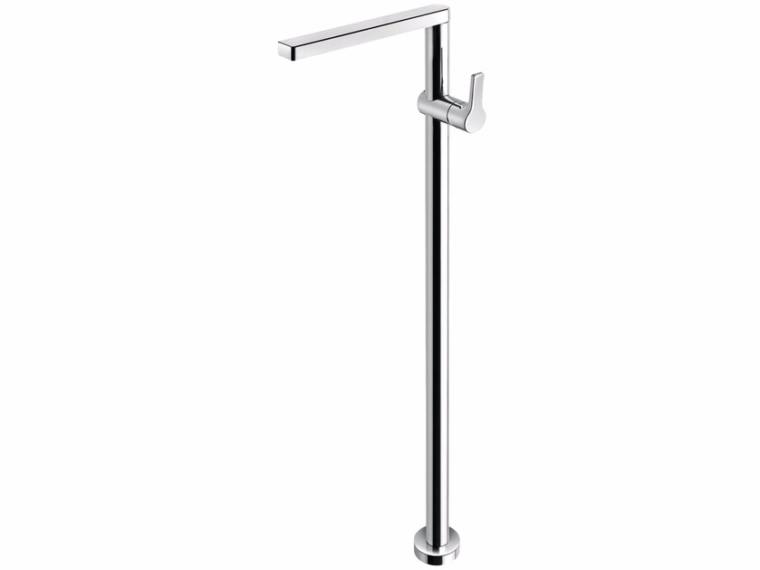 Floor standing washbasin mixer without waste HANDY 42 - 4213008 by Fir Italia