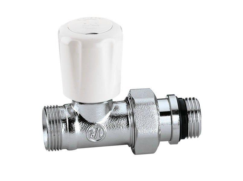 Valve, sluice, sluice gate for system 426 Angled convertible radiator valve by CALEFFI