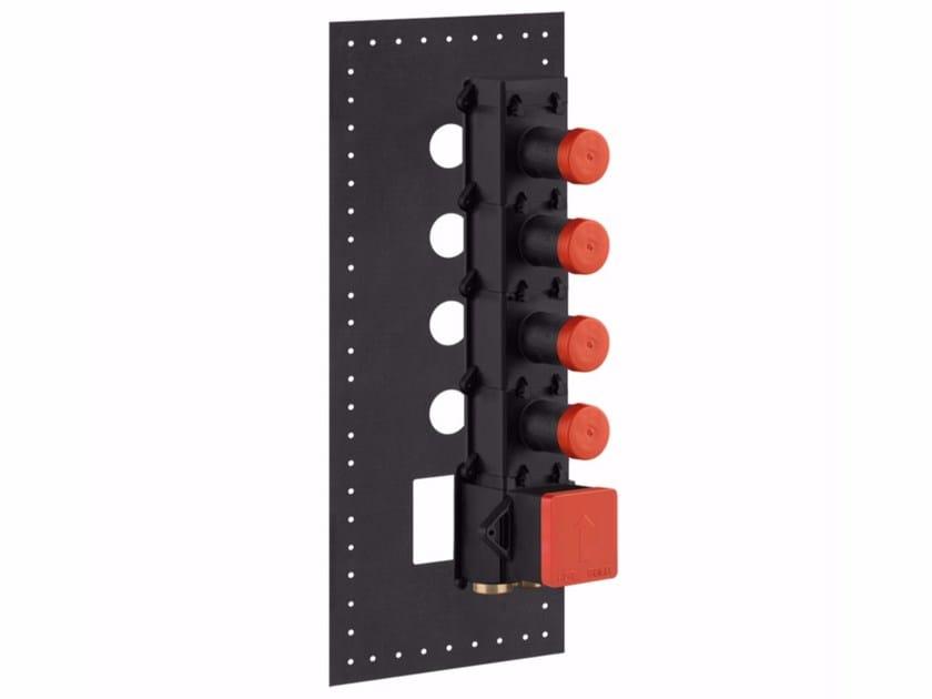 Concealed basic set 43107 | Concealed basic set by Gessi