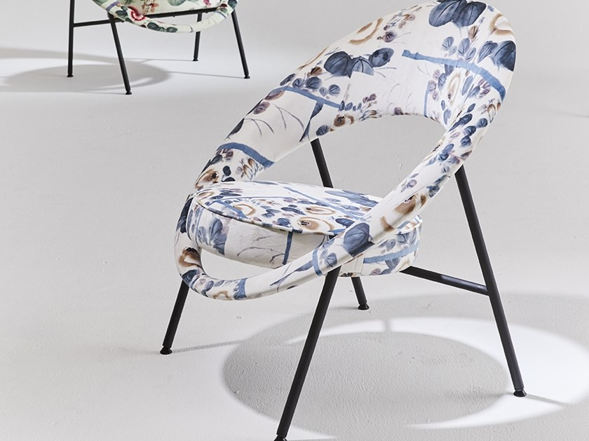 Fabric easy chair 44 EDITION LIMITÉE 2018 by Burov