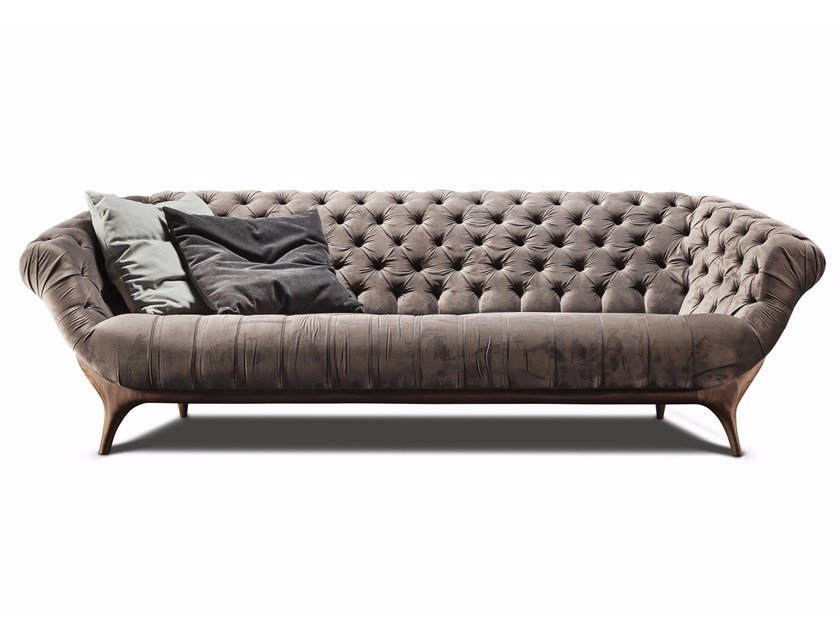 Tufted 3 seater sofa 440 VICTOR | Sofa by Vibieffe
