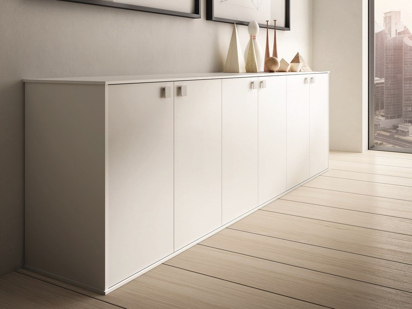 Low lacquered office storage unit 45/90 | Lacquered office storage unit by IFT