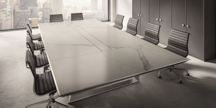 rectangular marble meeting table marble meeting table by ift