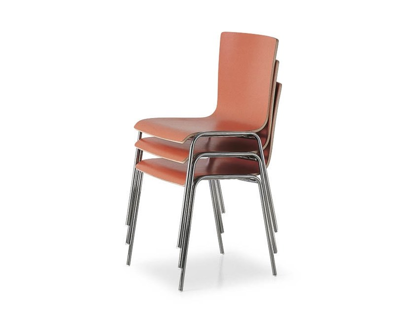 Stackable chair 45 HOSPITALITY | Chair by FANTONI