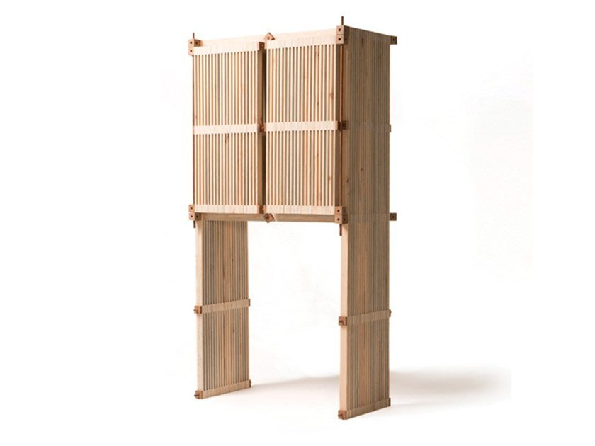 Wooden highboard with doors #47   Highboard by Linie by Cabana