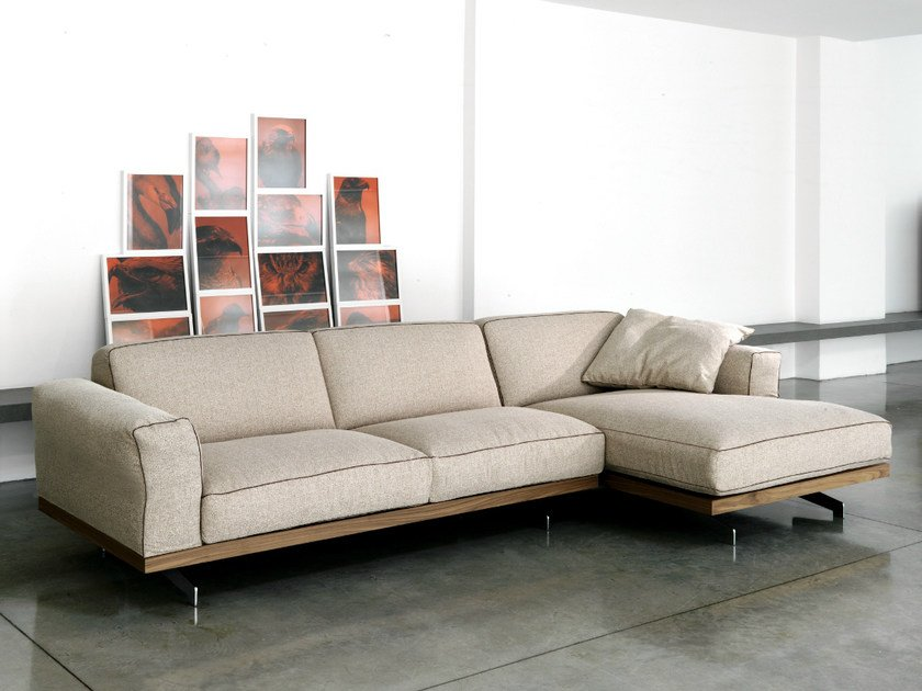 470 FANCY | Sofa with chaise longue By Vibieffe design Gianluigi ...