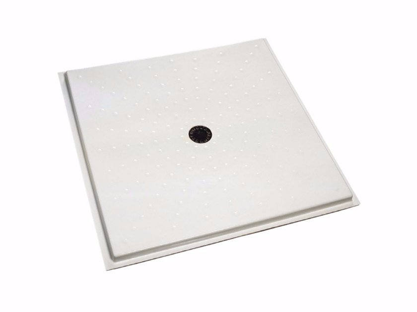 Piatto doccia filo pavimento quadrato 480-490 | Piatto doccia by Saniline
