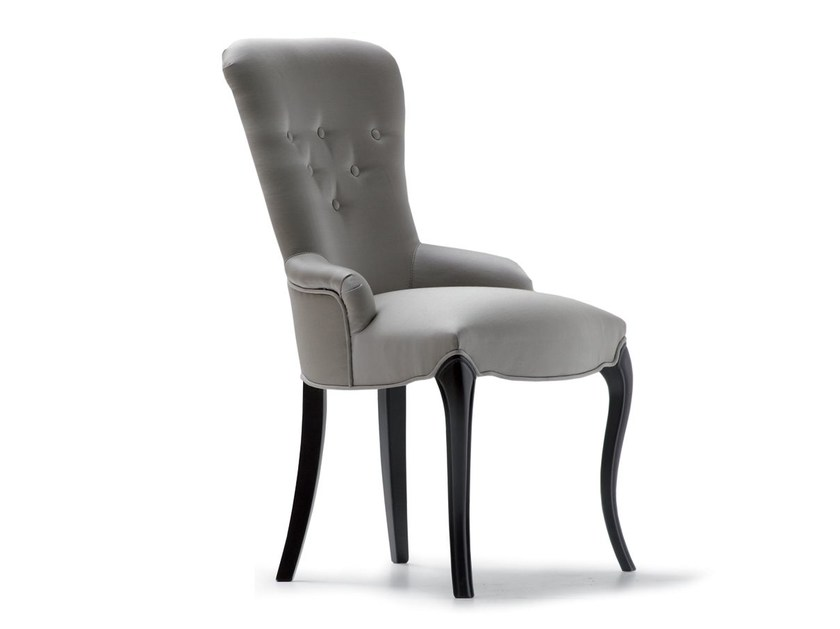 Tufted upholstered fabric chair 49019 | Chair by OPERA CONTEMPORARY