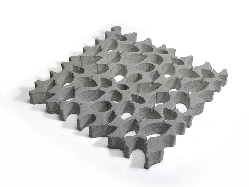Concrete paving block 4GREEN by Tegolaia