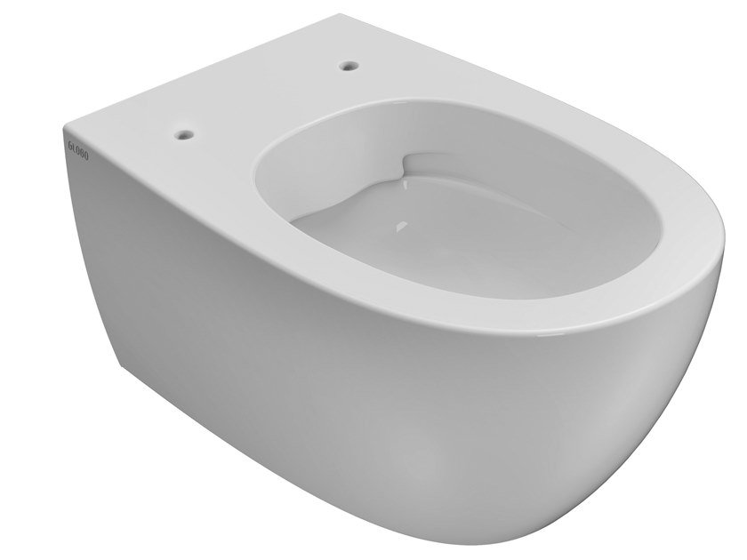 Wall-hung rimless ceramic toilet 4ALL | Rimless toilet by Ceramica Globo