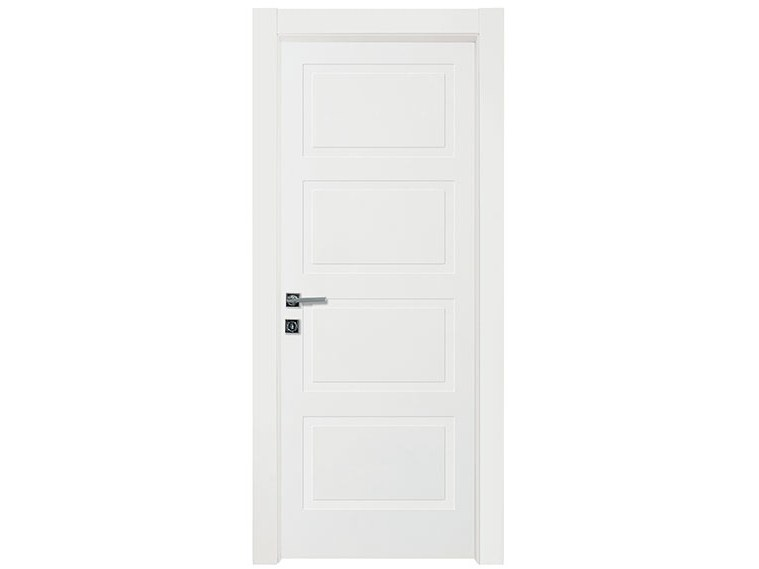 Hinged lacquered wooden door 4B | Door by NUSCO