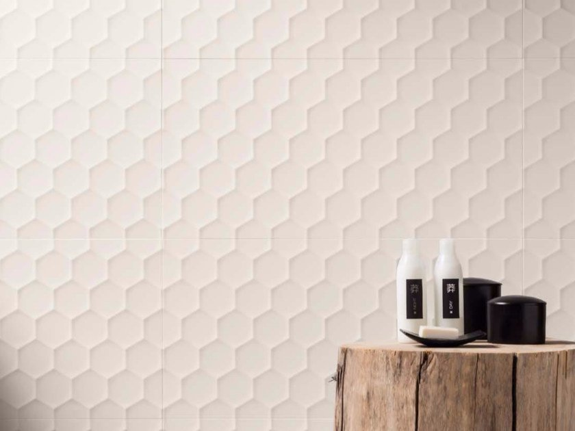 3D Wall Cladding 4D - HEXAGON 4D Collection By Marca Corona
