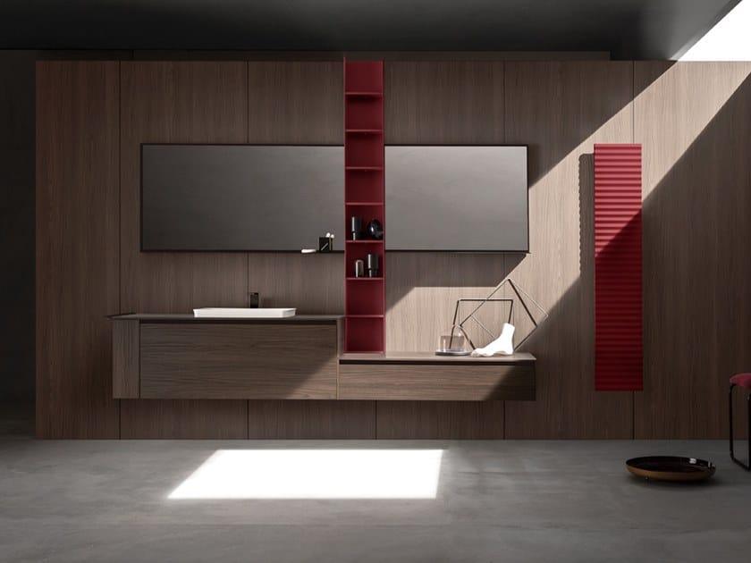 5.ZERO | Mobile lavabo con cassetti Collezione 5.Zero By ARBLU