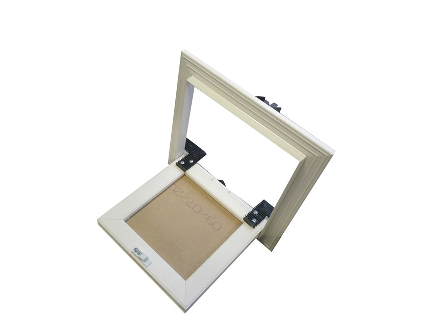 Plasterboard inspection chamber for partition walls for suspended ceiling Inspection chamber by Biemme