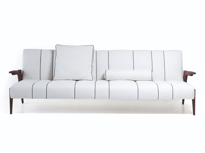 Sectional leather or fabric sofa 50 ITALO by Vibieffe