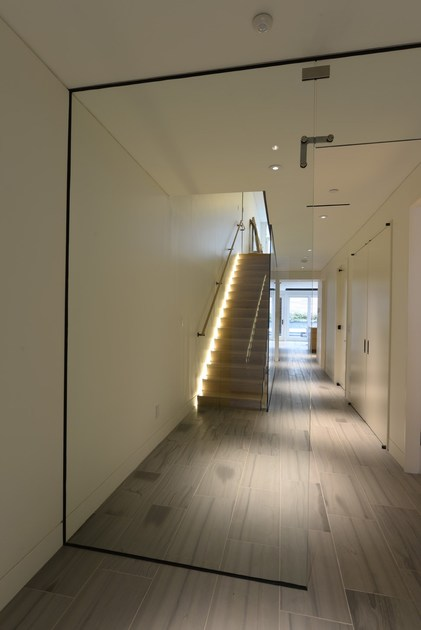 Open staircase with lateral stringers 500 | Open staircase with lateral stringers by Interbau
