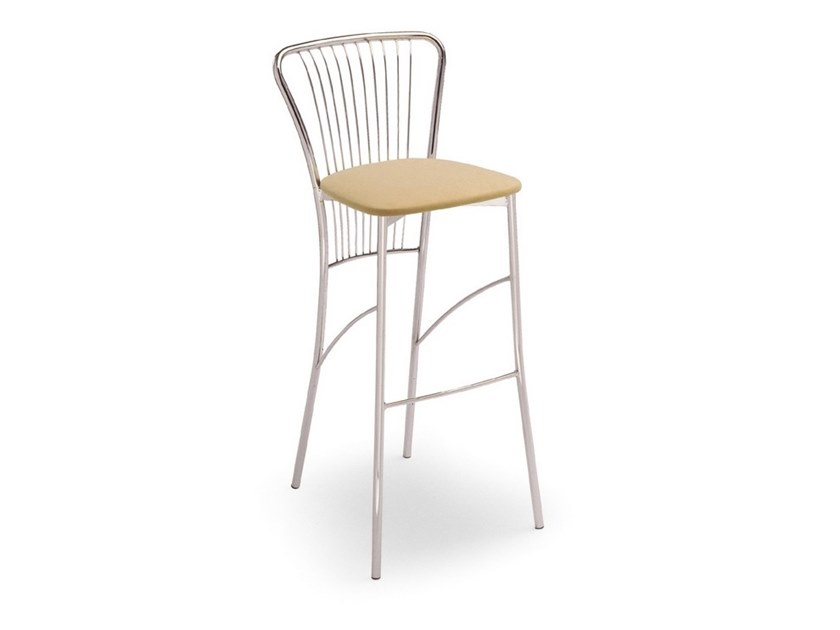 High steel stool 500 | Stool by Inday