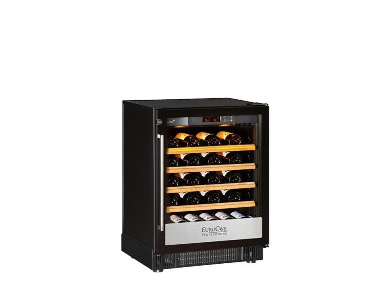 Professional wine cooler with built-in lights 5000: SMALL | Wine cooler by EuroCave