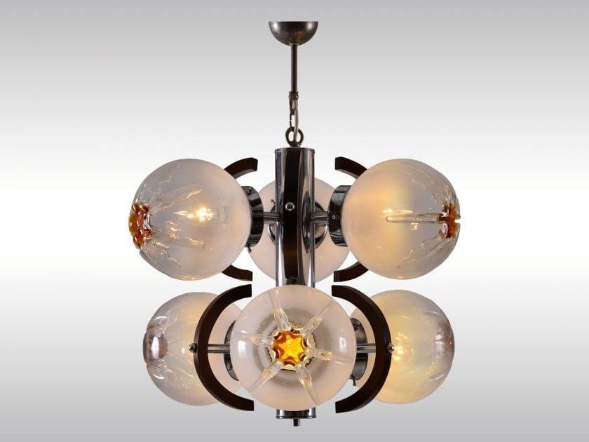 Pendant lamp 50052 by Woka Lamps Vienna