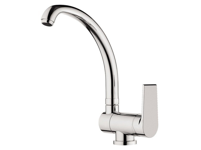 Countertop kitchen mixer tap with swivel spout ARTIC 510-AT | Kitchen mixer tap by Rubinetterie Mariani
