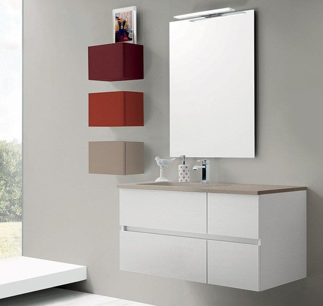 Bathroom furniture set 52 By RAB Arredobagno