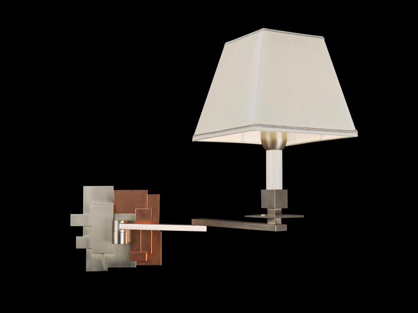 Metal wall lamp 52620 | Wall lamp by Tisserant