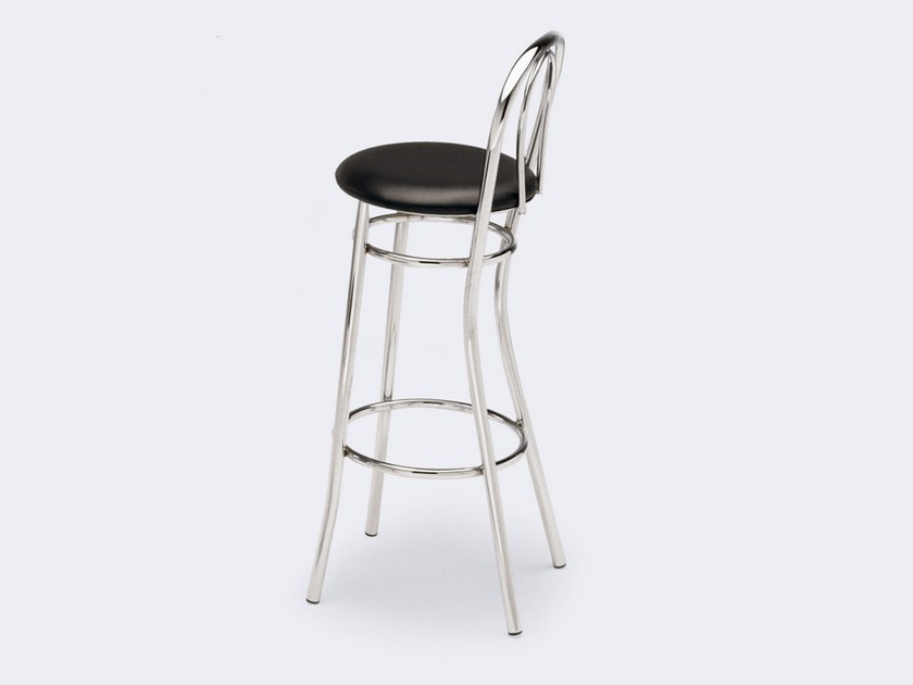 High stool with footrest 538 | Stool by Inday