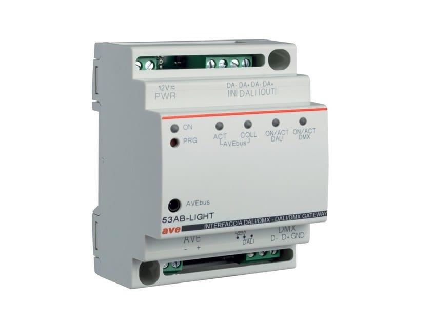 Interfaccia per sistemi domotici DOMINA PLUS 53AB-LIGHT by AVE