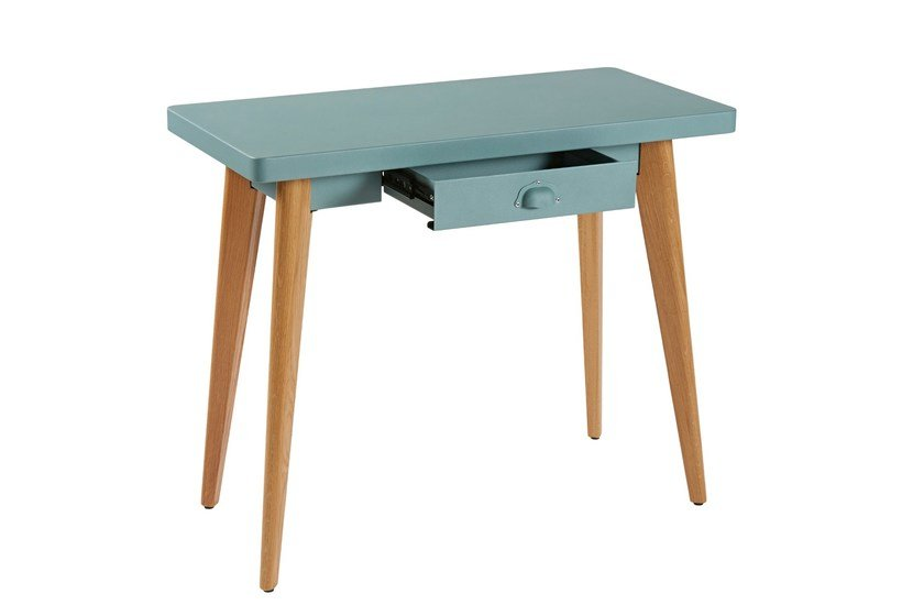 Rectangular console table with drawers 55 | Wooden console table by Tolix