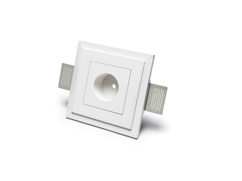 Rosone in Cristaly® ad incasso per sospensioni 5505C by 9010 novantadieci