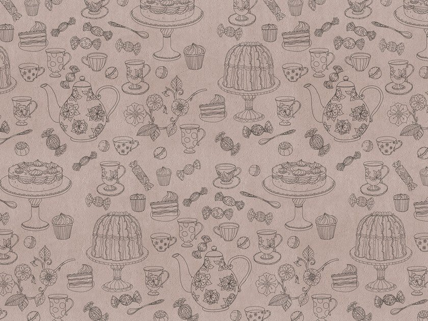 Digital printing wallpaper COFFEETIME by Architects Paper