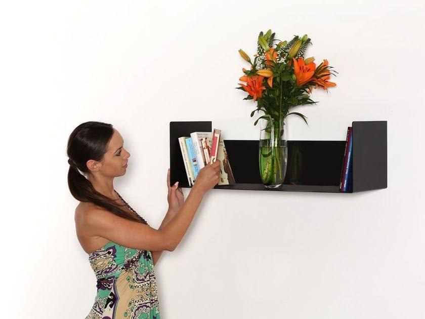 Steel wall shelf 598-2 | Wall shelf by Wissmann raumobjekte