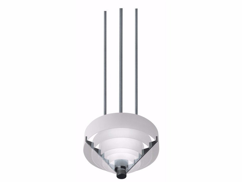 Direct light glass pendant lamp 6 C BIS | Pendant lamp by Jean Perzel