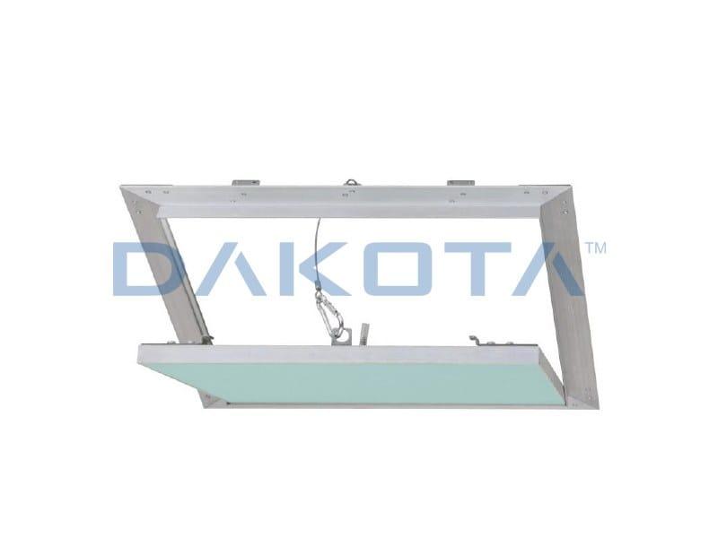 Plasterboard inspection chamber ALUHYDRO SENZA STUCCO by Dakota
