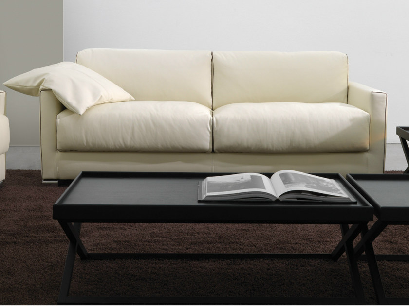 2 seater leather sofa 600 LITTLE | 2 seater sofa by Vibieffe