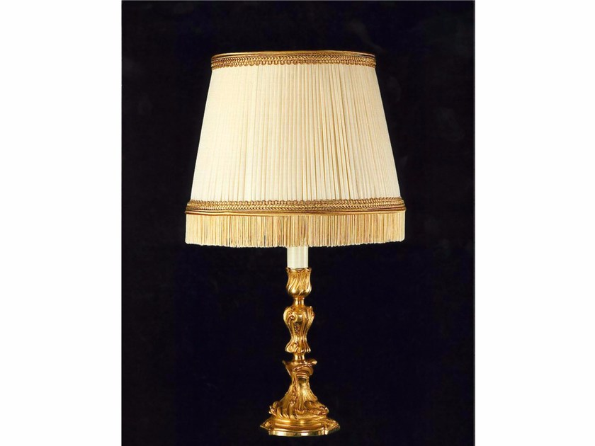 Bronze table lamp 600   Table lamp by Tisserant
