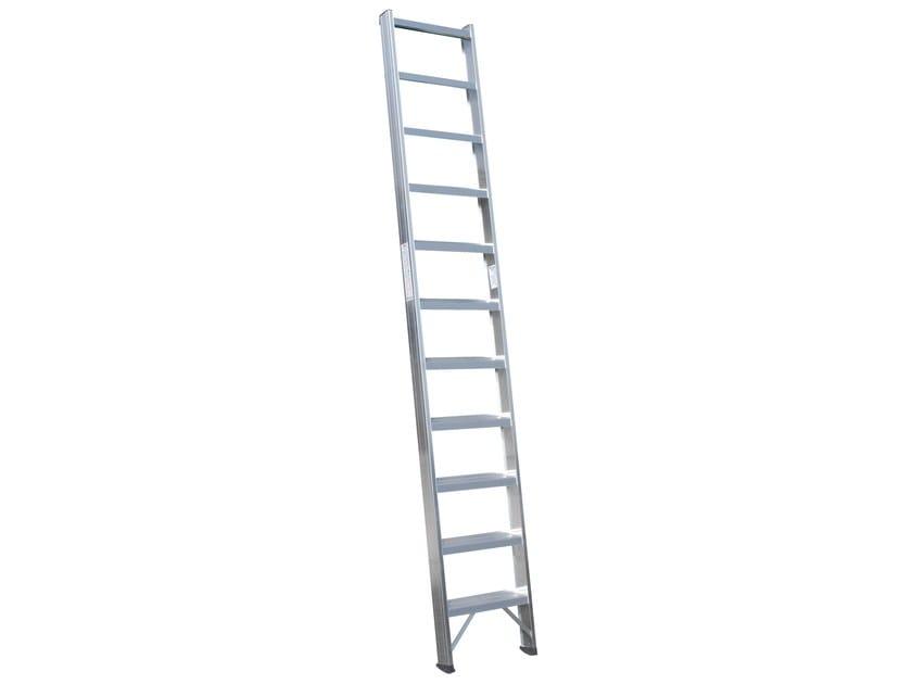 Aluminium heavy duty ladder 6028 by Frigerio Carpenterie