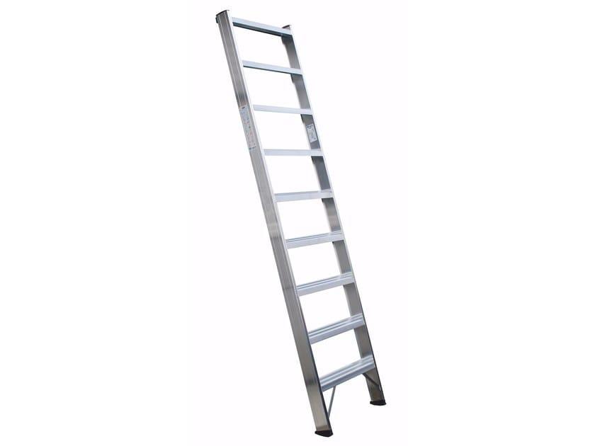 Aluminium heavy duty ladder 6048 by Frigerio Carpenterie