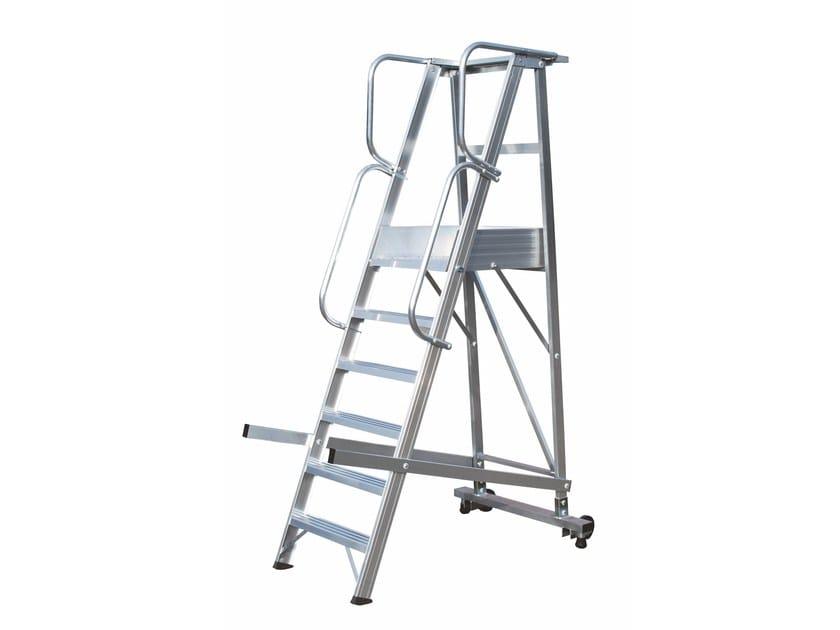 Heavy duty ladder 6083-6083A by Frigerio Carpenterie