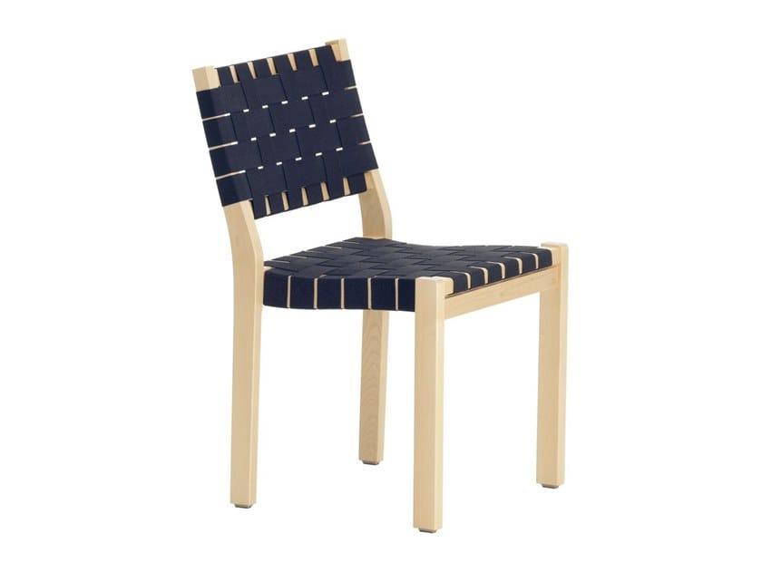 Wooden chair 611 | Wooden chair by Artek