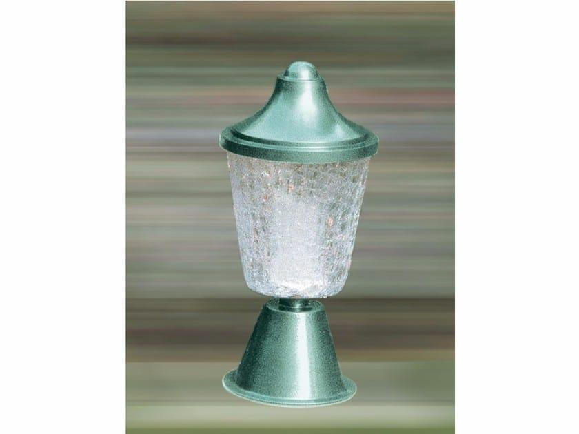Glass bollard light 6215 | Bollard light by Jean Perzel