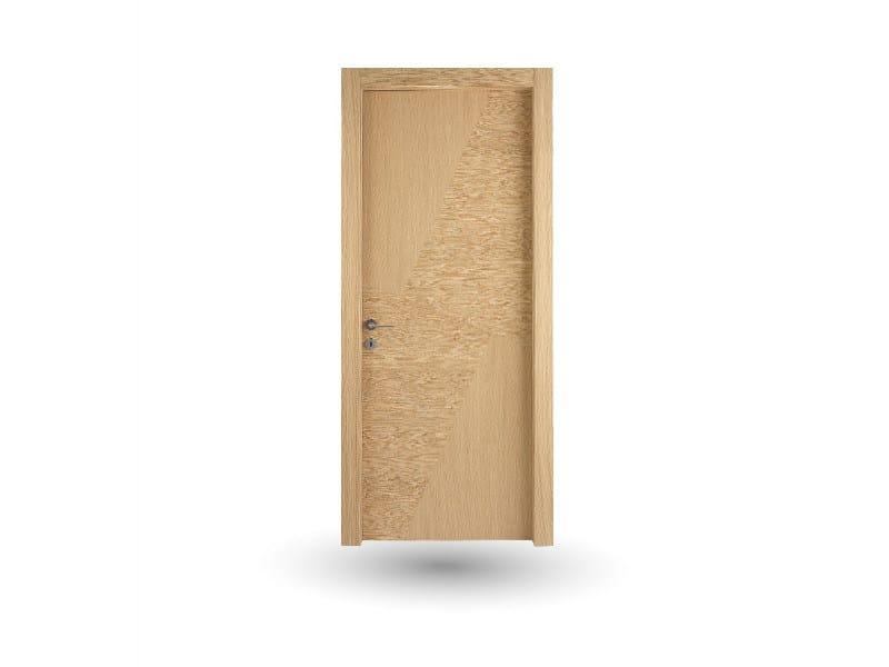 Hinged wooden door IMAGO 630i ROVERE GHIACCIO by GD DORIGO