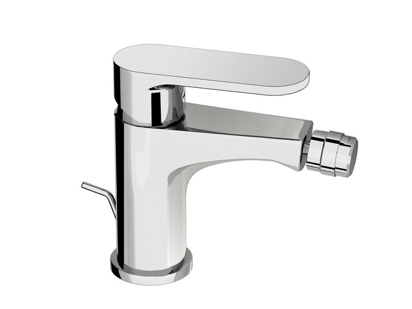 Countertop single handle bidet mixer SMILE 64 - 6421011 by Fir Italia