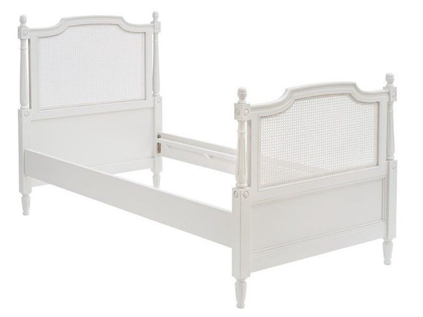 Wooden single bed 6491 by BUYING & DESIGN