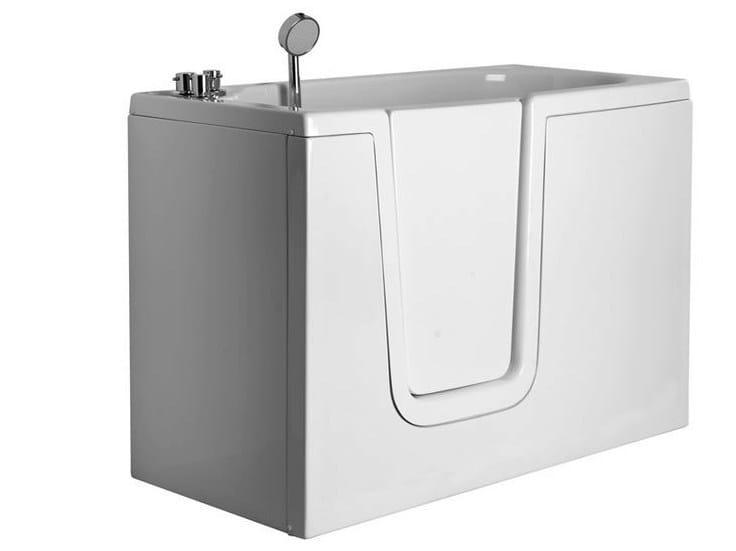 Vasche Da Bagno In Vetroresina Misure : Vasca da bagno in vetroresina con porta b vasca da bagno