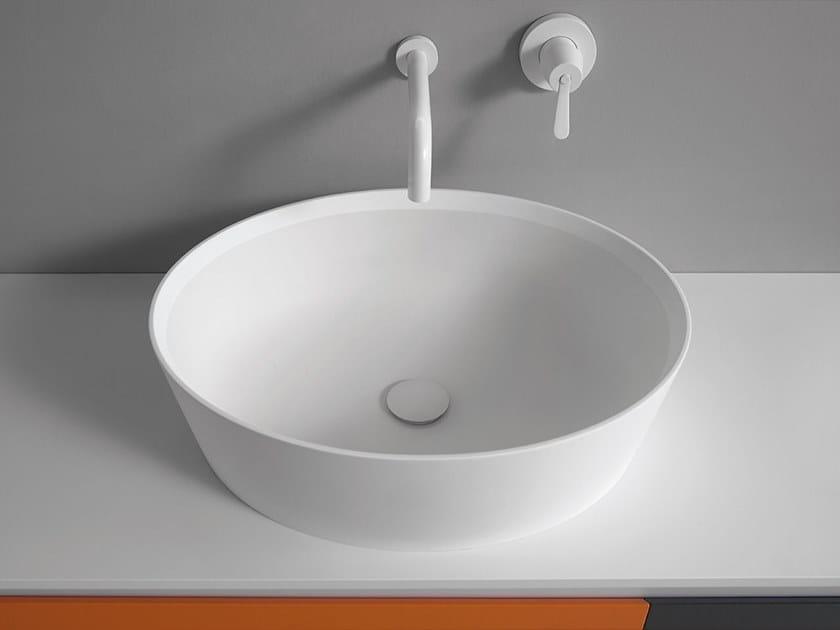 Countertop oval Ceramilux® washbasin 661 | Washbasin by Agape