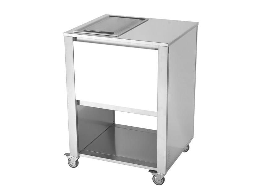 Kitchen cart with teppanyaki griddle 679184 | Kitchen unit by JOKODOMUS