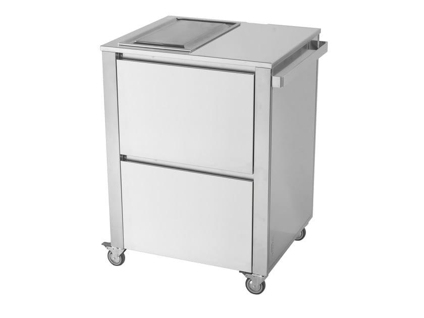 Kitchen cart with teppanyaki griddle 679381 | Kitchen unit by JOKODOMUS
