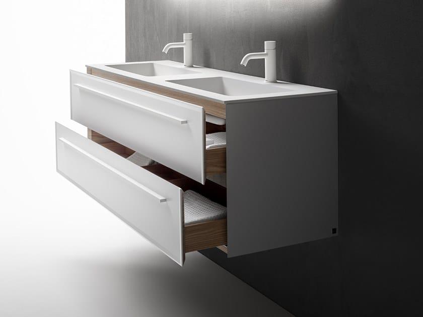 7.0 | Meuble sous-vasque double